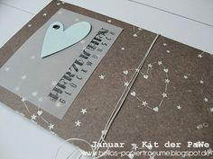 {Bellas} Papierträume: Januar - Kit °1