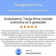 To dzięki Wam 😁 Dziękujemy 😍🥳 #optyk #optometrysta #okulary #oczy #wzrok #badanie #ekspert #promedoptyk #zaufanie #pięknyczas #duma #opinia Duma, Google