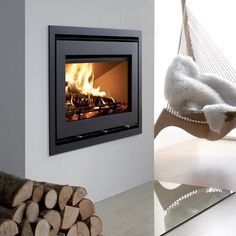Westfire Uniq 32 Wood Burning Inset Stove - Inset Stoves - In Stock - All Stoves - Stoves Are Us