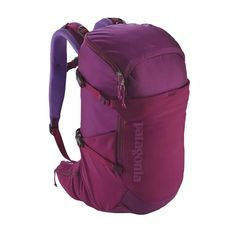 Patagonia Women's Nine Trails Hiking Backpack Patagonia Backpack, Patagonia Hiking, Backpack Online, Men's Backpack, Fashion Backpack, Camping And Hiking, Hiking Gear, Backpacking Trips, Camping Gear