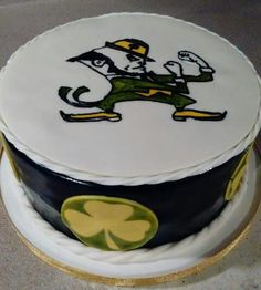 Notre Dame cake