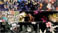 Beleza à francesa: Tendência - Floral Escuro