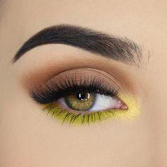 Tan Lines Matte, Shimmer & Luxe Foil Eyeshadow Palette - Jouer Cosmetics Makeup Eye Looks, Eye Makeup Art, Cute Makeup, Makeup Inspo, Makeup Inspiration, Makeup Drawing, Makeup Ideas, Makeup Tips, Simple Eyeshadow Looks