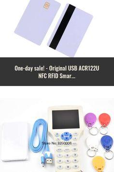 Original USB ACR122U NFC RFID Smart Card Reader Writer + 5