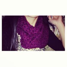 :) another scarf I made