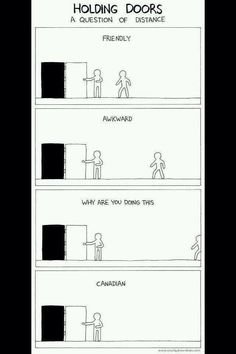 a guide to holding doors // tags: funny pictures - funny photos - funny images - funny pics - funny quotes -