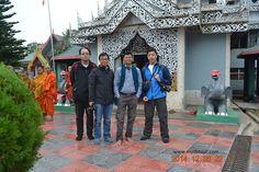 Tourist visited to Buddhist Temple, Rangamati, Bangladesh