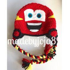 Sombrero de coches Rayo McQueen Mater sombrero por MadeByJoJo89