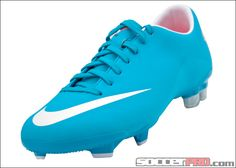 Nike Womens Mercurial Glide III FG - Turquoise Blue with Challenge Red...$80.99