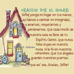 Oración por el hogar