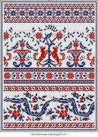 Free Easy Cross, Pattern Maker, PCStitch Charts + Free Historic Old Pattern Books: Sajou No 186