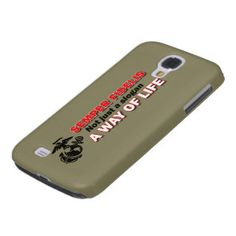 A way of life, USMC Semper Fidelis Marine Corps cell phone case.   Officially licensed and 10% of all proceedings go directly back to the Marine Corps.