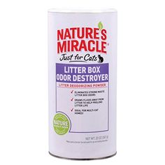 20 OZ Ust for Cats Odor Destroyer Litter Powder * More info could be found at the image url.