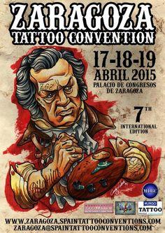 opinión-debate: 7ª ZARAGOZA TATTOO CONVENTION - 17-18-19 ABRIL 201...