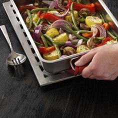 Roasted Veggie Platter Recipe