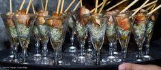 Enroladinho de frango Thai. #fingerfood #captainsbuffet #wedding