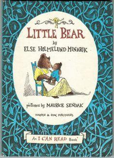 Little Bear by Else Holmelund Minarik and Maurice Sendak Maurice Sendak, I Can Read Books, I Love Books, Good Books, My Books, My Childhood Memories, Childhood Toys, Early Childhood, Vintage Children's Books