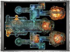 """Crypt Map used in """"Dawn Reach"""" campaign on 11/19/16 1.bp.blogspot.com -yQQ7iaMGfJs U2XxIMITzUI AAAAAAAAemo xuJI5iGqqX0 s1600 10305328_796460150366205_5760325459787789066_n.jpg"""