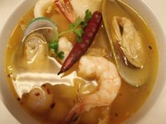 Tom Yum Seafood Soup from Awesome Thai in Reseda, CA