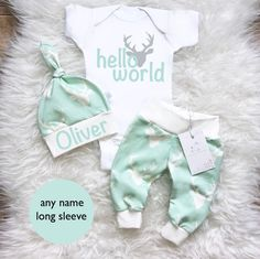Brand new mint deer color is available now in our shop! Gender neutral will be perfect for boys and girls.. choose your trim color!