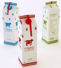 Polish #milk #packaging PD