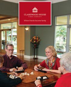 Clarewood House Brochure Cover. Agency: http://www.wirthweinmarketing.com/