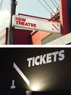 New Theatre Identity by Interbrand