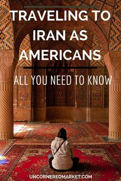 How to travel to Iran from the United States. We demystify the Iranian visa process and strip away the fear of travel to Iran for American citizens.