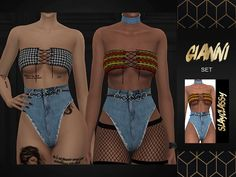 slayclassy - gianni set - the sims 4 | Madame Sims 4 My Sims, Sims Cc, Sims 4 Clothing, Female Clothing, The Sims 4 Cabelos, The Sims 4 Download, Sims Mods, Guys, Clothes For Women