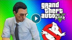 GTA 5 Glitches & Mods – FIB Building Mission, Ghostbusters, Big Poop, Elevator Shaft (GTA 5 Online)