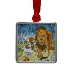 Wizard of Oz Christmas Tree Ornament #WizardofOz #Fairytale #Ornament