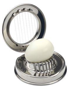 IKEA Slat Egg Slicer Cutter Stainless Steel Easy Cutter Kitchen Boiled Mushroom