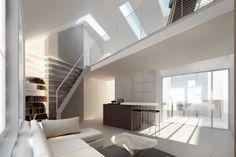 Grosvenor Street - London - FLETCHER CRANE ARCHITECTS London Fletcher, Kingston Upon Thames, Crane, Modern Architecture, Architects, Stairs, Contemporary, Street, House
