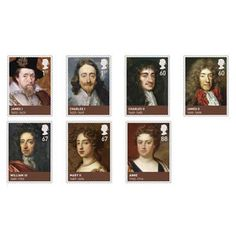 House of Stuart Stamp Set (UK)