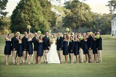 southern nautical weddings | Nautical/ Blue / White/ Yellow Wedding Ideas / Southern Etiquette ...