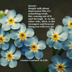 Secret ~ via Lesson Learned In Life ...