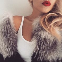 """45 Likes, 4 Comments - Lilly e Violetta (@lillyevioletta) on Instagram: """"It's definitely autumn now! Furcoats on and ready to embrace the cold! #lillyevioletta #furfashion…"""""""