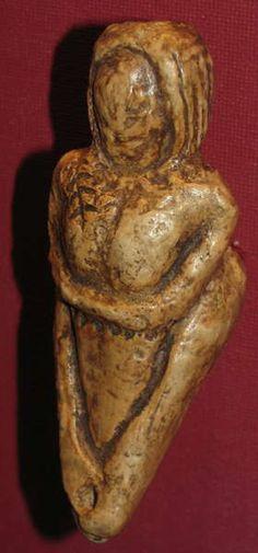Mal'ta venus figurine. Vienna Natural History Museum.
