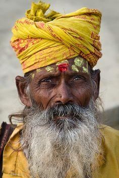 Hindu devotee- Varanasi, India
