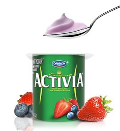 Activia probiotic yogurt products are designed to taste good, and help regulate your digestive system.- Specialists at Dannon designed Activia to contain an exclusive probiotic culture, called Bifidus Regularis® (Bifidobacterium lactis DN-173 010). Bifidus Regularis has been shown to survive passage through the digestive tract in sufficient amounts for Activia to help regulate the digestive system* - http://activia.us.com/probiotic-yogurt