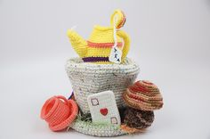 Alice in Wonderland Crochet Top Hat Gallery