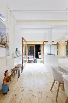 Minimalismo renova casinha de vila em SP - Casa Vogue | Arquitetura