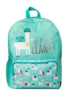 No Prob Llama Backpack by FASHION ANGELS on @HauteLook