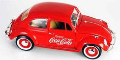 Cars, MOTOR CITY, Coca-Cola - 1966 Volkswagen Beetle Full diecast metal body with plastic parts Free rolling wheels Authentic Coca-Cola graphics Opening parts Coke Ad, Pepsi Cola, Always Coca Cola, Vw Volkswagen, Diecast, Maltese, Router Wood, Wood Lathe, Cnc Router