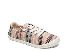 Women Bayshore III Slip-On Sneaker -Beige/Multicolor Stripes Roxy Shoes, Women's Shoes, Sanuk Shoes, Jambu Shoes, Lightweight Running Shoes, Buy Shoes Online, Clearance Shoes, Luxury Shoes, Types Of Shoes