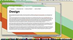 How to Make a Web Site Part III: A Site from Start to Finish