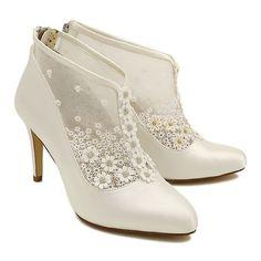 Hattie - a vintage Ankle boot - Perfect little wedding bootie