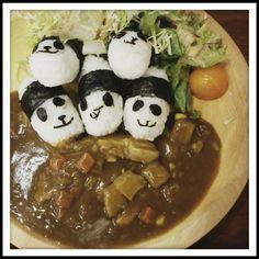 cute panda rice. errr but i think my pandas urgently need a trip to Korea lol #foodie #instafood #foodstagram #nomnom #yum #redbeandessert #hkfoodie #hkig
