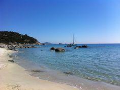 Bongani Again - off Sardinia beach, roll on Summer