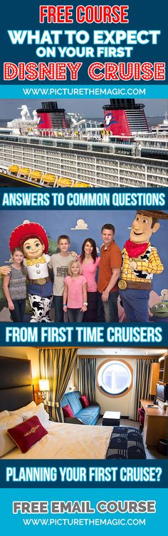 FREE COURSE: What to Expect on Your First Disney Cruise